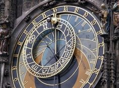 Astronomical clock in Prague - the most beautiful clock in the world