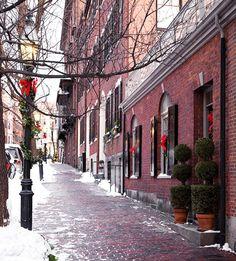 Christmas in Boston