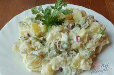 Nejlepší bramborový salát našich babiček | NejRecept.cz Bon Appetit, Risotto, Potato Salad, Food And Drink, Potatoes, Cooking, Ethnic Recipes, Kitchen, Food Ideas