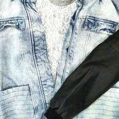 FindersKeepers Denim Jacket  #suitster #online #store #fashion #style #finderskeepers #shakuhachi #denim