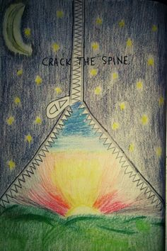 Wreck this journal- crack the spine