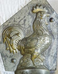 Antique chocolate mold. | vintage molds