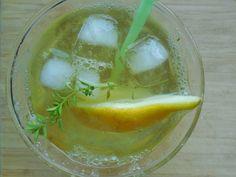 Tijm-citroen limonade: homemade limonade, vers en gezond!