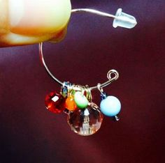 DIY earrings; these are just too cute and versatile NOT to make. Gonna make these today!
