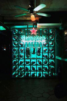 Heineken Draught House_  Design by andbut space design #Bar #Lounge #Design