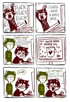 xamag-homestuck:   I've lost control of my life. - One Foot On The Wheel, The Other On Her Thigh
