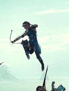 Robin Wright as General Antiope on Wonder Woman (2017) @robinwrightsite