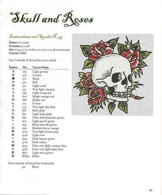 Image result for ed hardy cross stitch