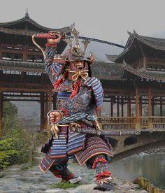Самурай Кусуноги Масасиге, 1294-1336, Япония. SAM, М1:14 (120 мм).