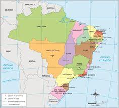 Rio de Janeiro - Conheça seu Estado (História e Geografia): A divisão estadual após a independência do Brasil