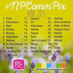 Nonprofit Communicators Photo-A-Day Challenge Is Back! #NPCommPix