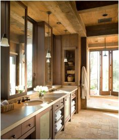 """""""I love all the natural wood on the ceiling. much warmer than stark white. also feels like it's park of the outdoor environment."""" - John"""
