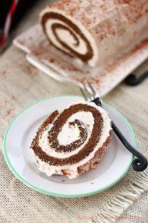 Gingerbread Roll Cake Recipe