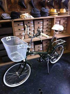 #Bobbin Shopper #Vintage bike #Retro bike #Cycle Chic