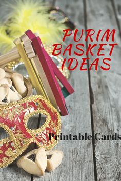 Purim basket ideas w