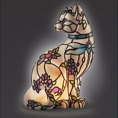 Show Your Cat Love In Tiffany Style  ... see more at PetsLady.com ... The FUN site for Animal Lovers