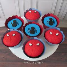Spiderman | Homem Aranha - cupcakes - Cake Stand by Coco&Baunilha