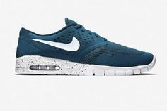 Hot New Nike Eric Koston 2 Max Mens Shoes White Blue on Sale Skateboard Cheap Sale Ligne