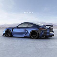 "@automotive.performance on Instagram: ""2015, Porsche Cayman GT4 (Photo: @bengalaautodesign)""  #cars #wheels #tyres"