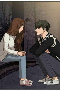 Digital art girl portraits anime 35 ideas for 2019 Cute Couple Drawings, Cute Couple Art, Anime Couples Drawings, Anime Couples Manga, Cute Couples, Love Cartoon Couple, Anime Love Couple, Couple Amour Anime, Anime Love Story