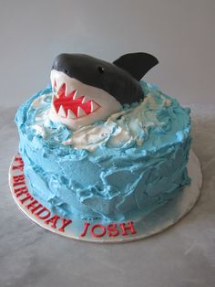 Shark Cake — Children's Birthday Cakes