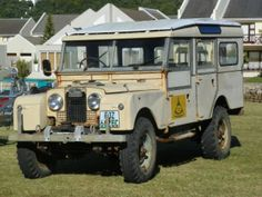 John Muirden who lives somewhere south of Hadrian's Wall joined us for Old Trucks at Lekkerpoet in the Tuli Block, Botswana last year. The result of this was his recent purchase of this 1957 Land Rover Series One 107 Station Wagon