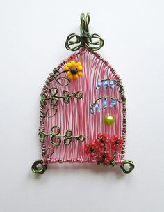 Fairy Door (commission) by Louise Goodchild, via Flickr