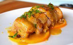 Pollo a la Naranja – Recetas Saludables - Profuse Tutorial and Ideas A Food, Good Food, Food And Drink, Yummy Food, Healthy Chicken Recipes, Cooking Recipes, Pollo Chicken, Orange Recipes, Meal Planning