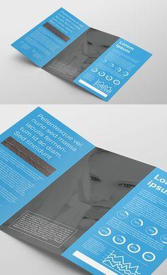 Free Tri Fold Flyer Mockup | Freebies PSD