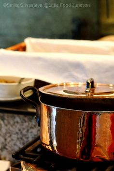 Week 5 - A Copper Pan ( restaurant photography), via Flickr.