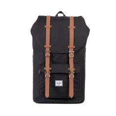 The Herschel Little America™ backpack is an iconic silhouette, pairing classic mountaineering style with modern functionality. Signature striped fabric liner Pa