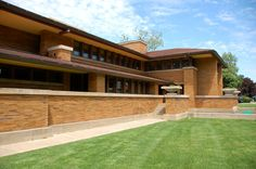 Darwin Martin House. 1904. Buffalo, New York. Prairie Style. Frank Lloyd Wright.