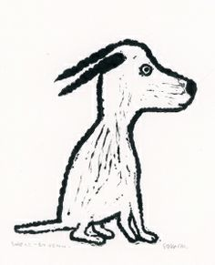 Søssa Magnus - En venn   Galleri Briskeby Moose Art, Interior, Animals, Drawing Pics, Indoor, Animaux, Animales, Interiors, Animal