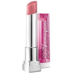 Maybelline Color Whisper By Color Sensational Lipcolor - 0.11 oz ($5.99) ❤ liked on Polyvore featuring beauty products, makeup, lip makeup, lipstick, beauty, lips, lust for blush, lipstick & lipstains, moisturizing lipstick and lip gloss makeup
