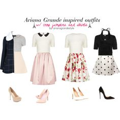Ariana Grande Inspired Outfits by arianagrandestyle (dresslikearianaa on polyvore)
