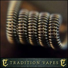 Pin point accuracy. Fused Claptons for days. http://ift.tt/1LIwZ5c (link in bio)  #traditionvapes #vapeporn #coilporn