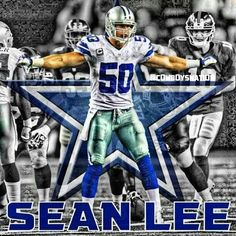 Dallas Cowboys #50 Sean Lee