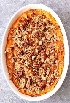 The Best Easy Sweet Potato Casserole Recipe