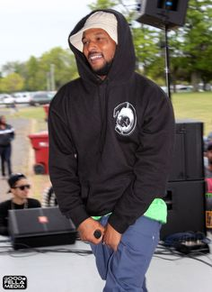 SchoolBoy Q - Under the Influence of Music Tour at Scarborough Downs Race Track, Scarborough, ME, July 31, 2012