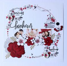 Créations pour Version Scrap avec les nouveautés Florilèges Design - Stéphanie