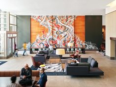 SKB Architects Creates Lively Lobby for Key Center Office Tower