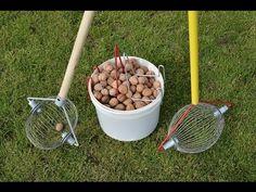 Как быстро собрать грецкий орех? Ролл инструмент для сбора грецкого ореха. - YouTube