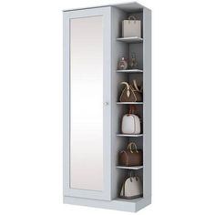 Bedroom Furniture Design, Dream Furniture, Home Decor Furniture, Bedroom Decor, Shoe Storage, Locker Storage, Storage Cabinets, Tall Cabinet Storage, Dressing Table Mirror Design