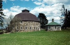 The Annala Round Barn in Iron County is one of Wisconsin's most distinctive rural buildings.