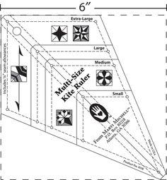 Multi-Size Kite Ruler