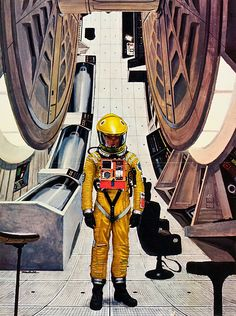 2001: A Space Odissey (1968) This illustration