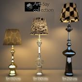 Floor-lamps by Art-say collection