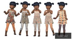 nibbsnz: Mix'n'Match I love the toddlers! They... - My CC Treasure Trove