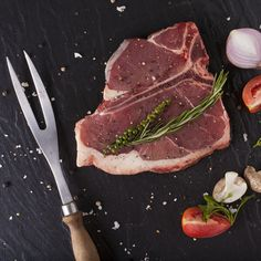 Blue Cheese-Stuffed Steak with Creamy Greens