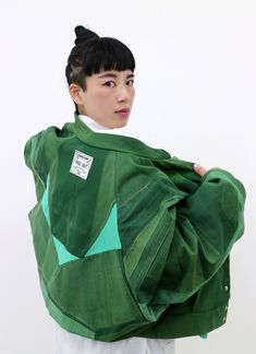 LUCKY GREEN -limited edition- Bomber Jacket | FADE OUT Label
